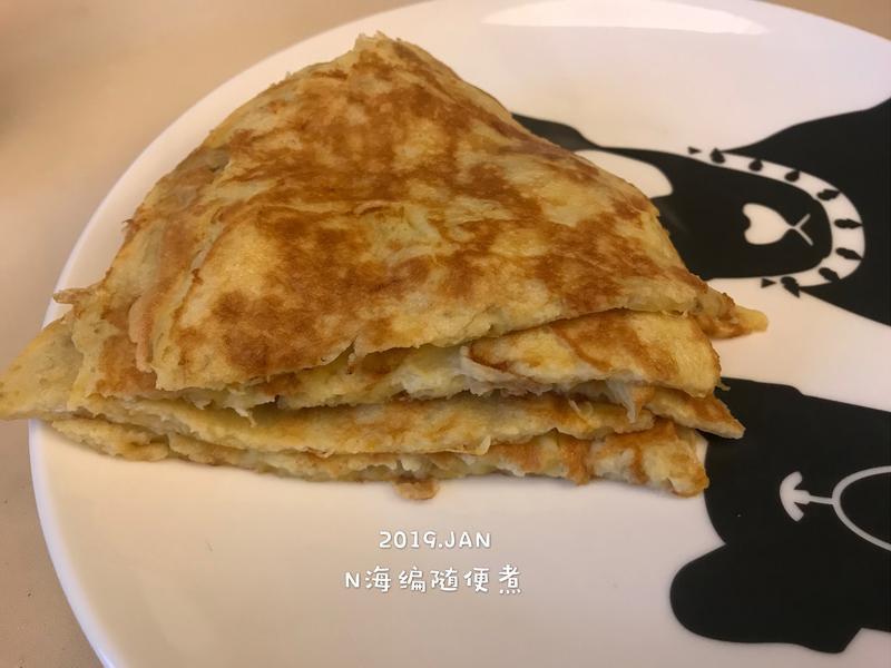香蕉雞蛋煎🌊(甜點&早餐&寶寶副食)