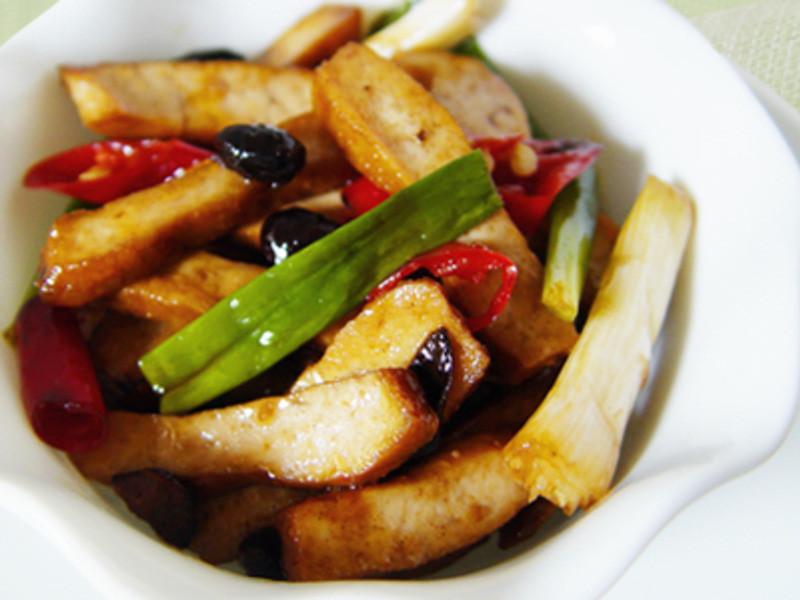 【厚生廚房】香炒豆豉豆干