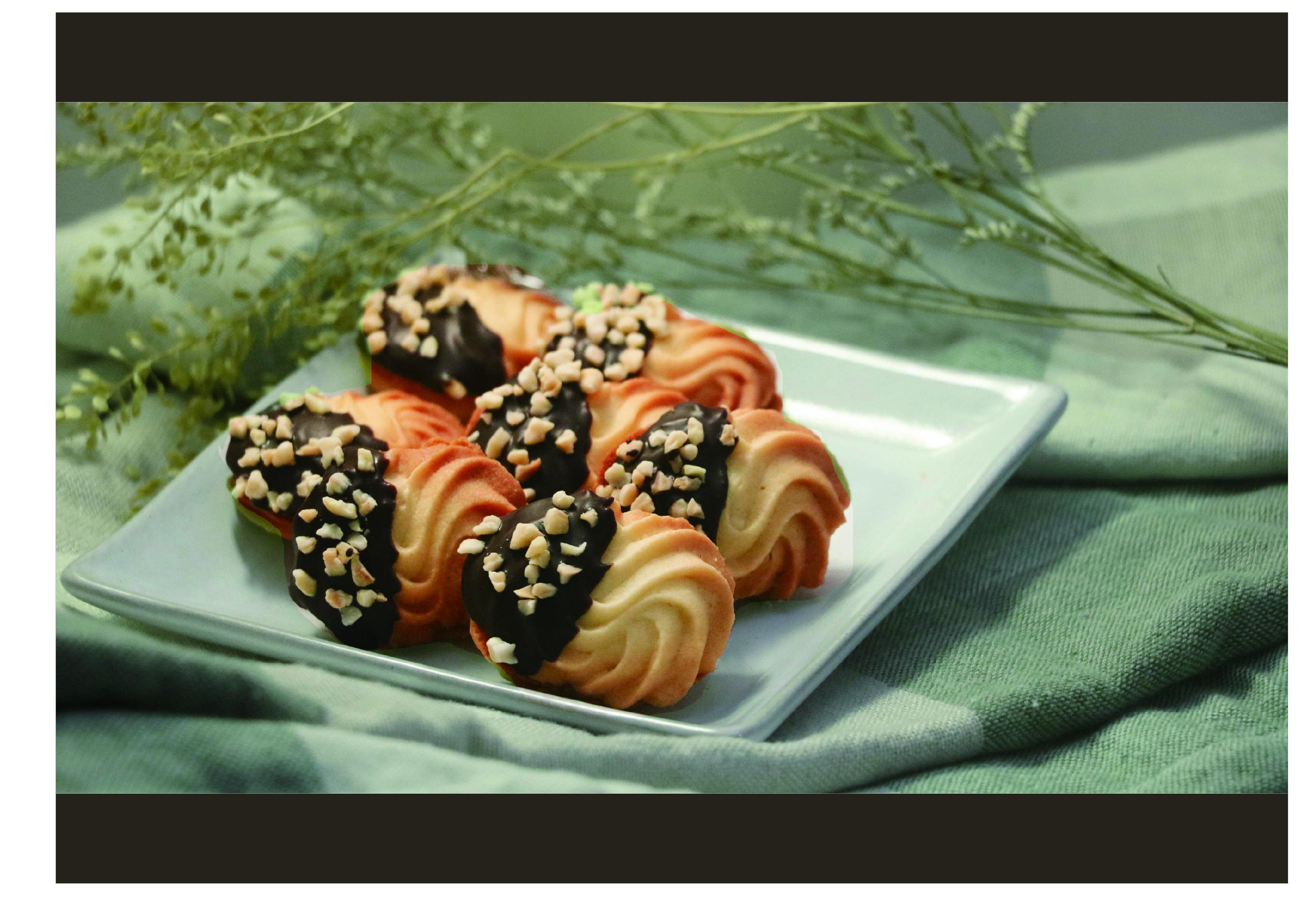 榛果巧克力夾心擠花餅乾