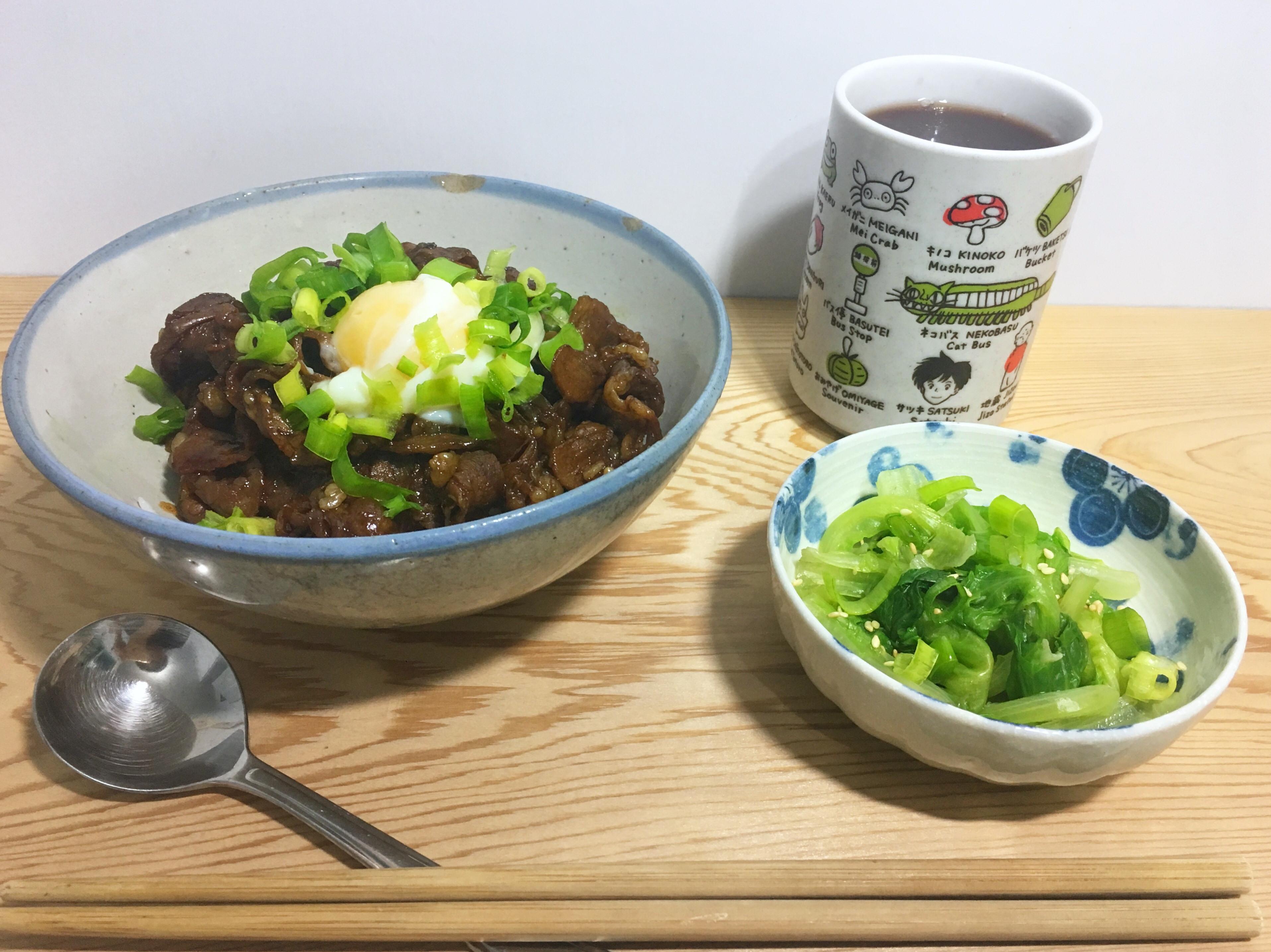超簡單 燒肉丼飯