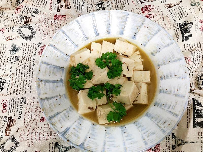 歐式蒜味豆腐
