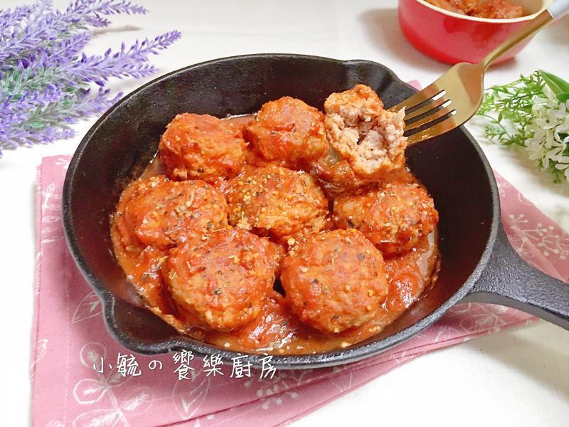 🍅茄醬燉肉丸