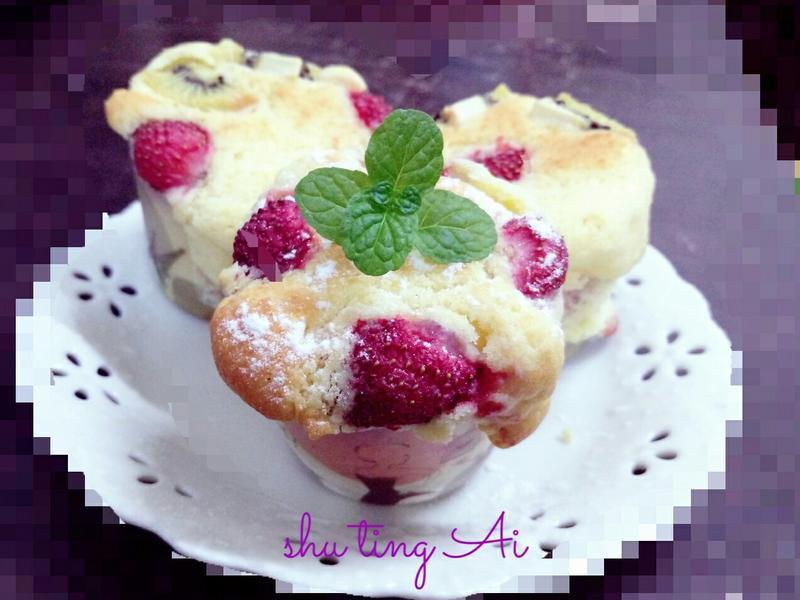 水果馬芬蛋糕