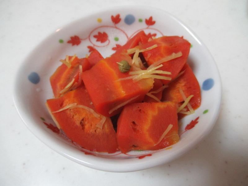 日式醋煮紅色紅蘿蔔