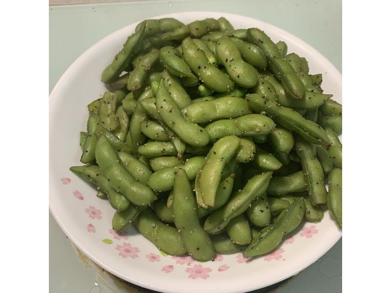 帶殼熟毛豆(六個月副食品