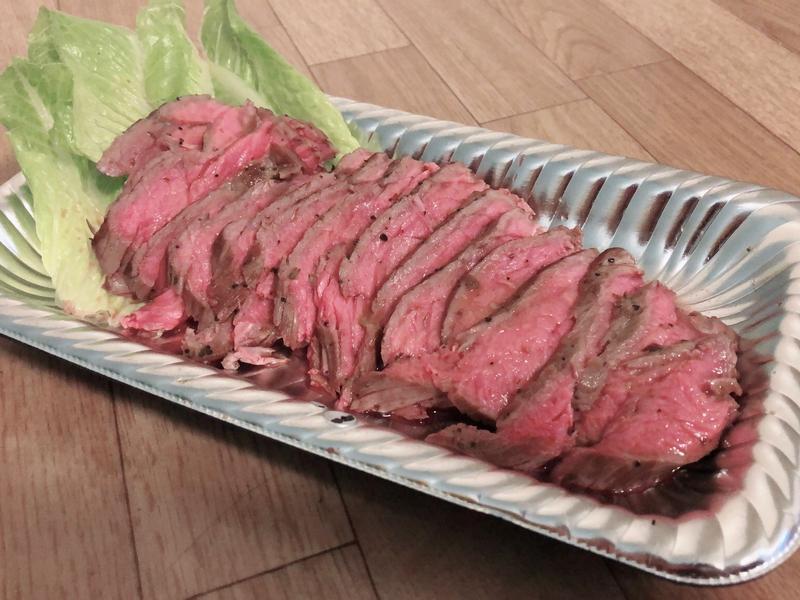 電子鍋版舒肥牛肉/舒肥牛排 ロストビーフ