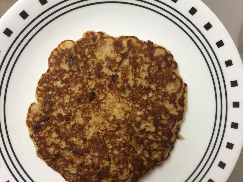 香蕉燕麥年糕鬆餅(早餐)