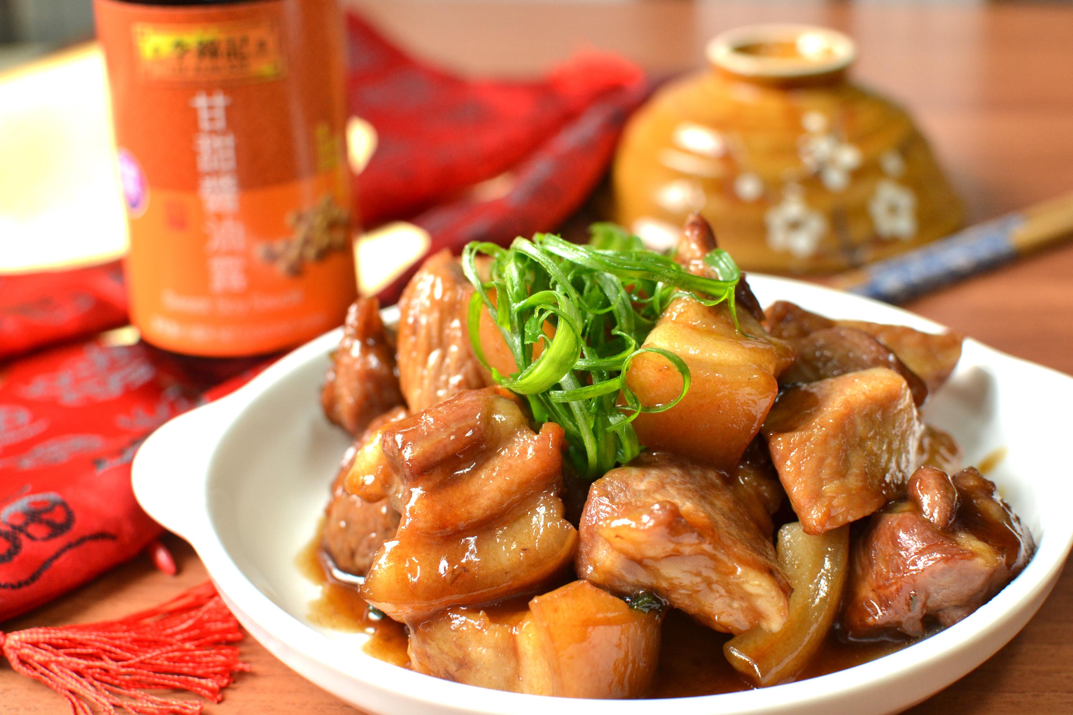 諸(豬)事大吉-蔥燒豬肉