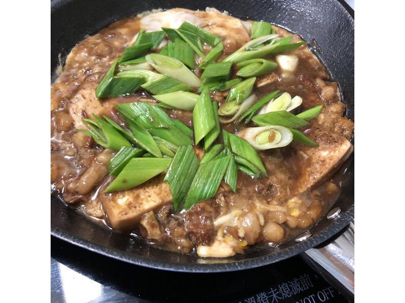 滑蛋肉燥豆腐