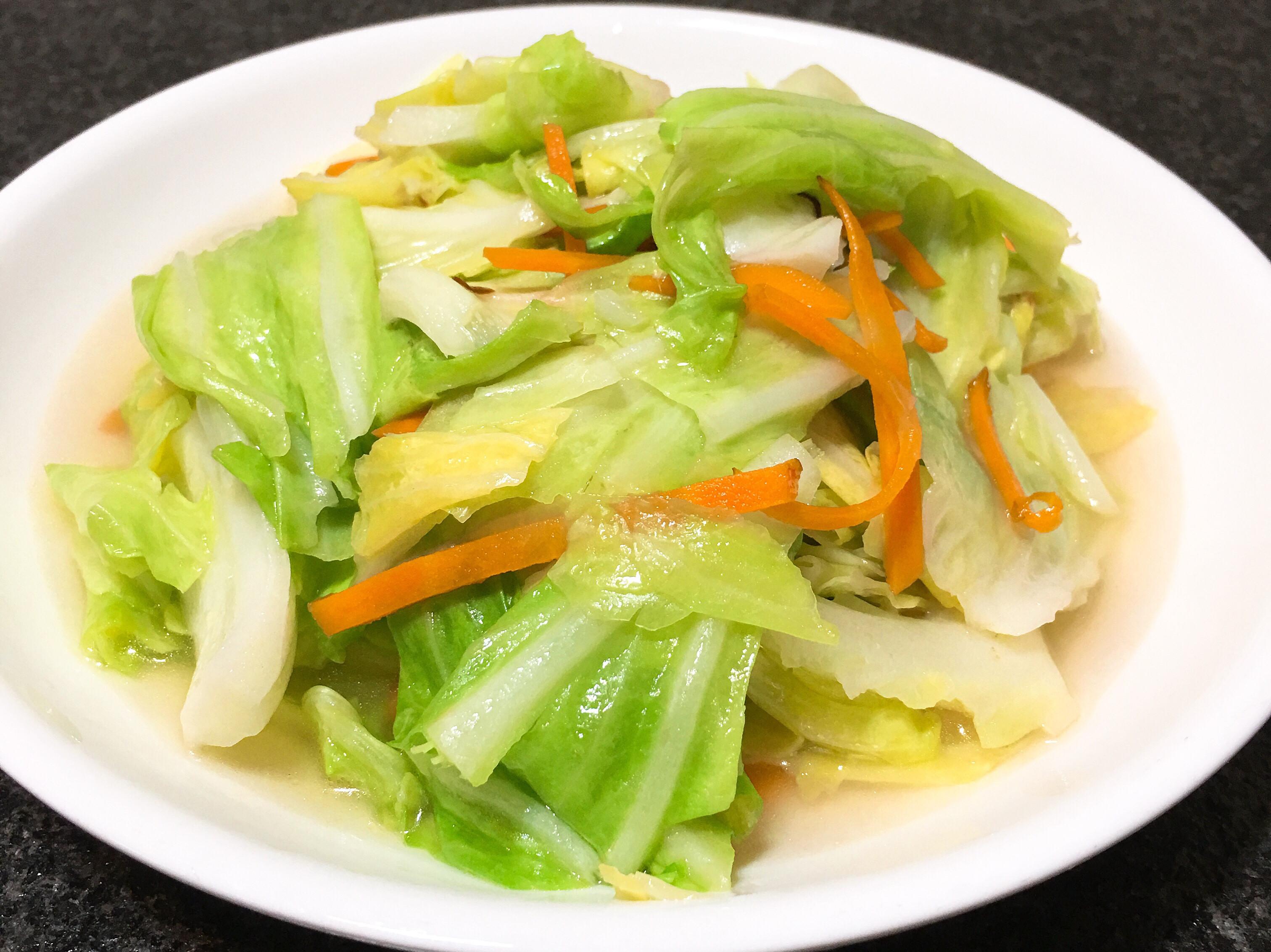 清炒高麗菜~全素