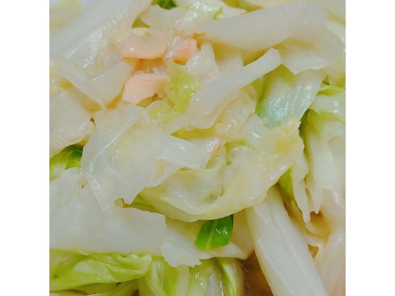 蝦油高麗菜