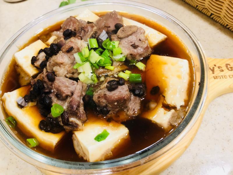 豆鼓排骨蒸豆腐 廚房的旋律