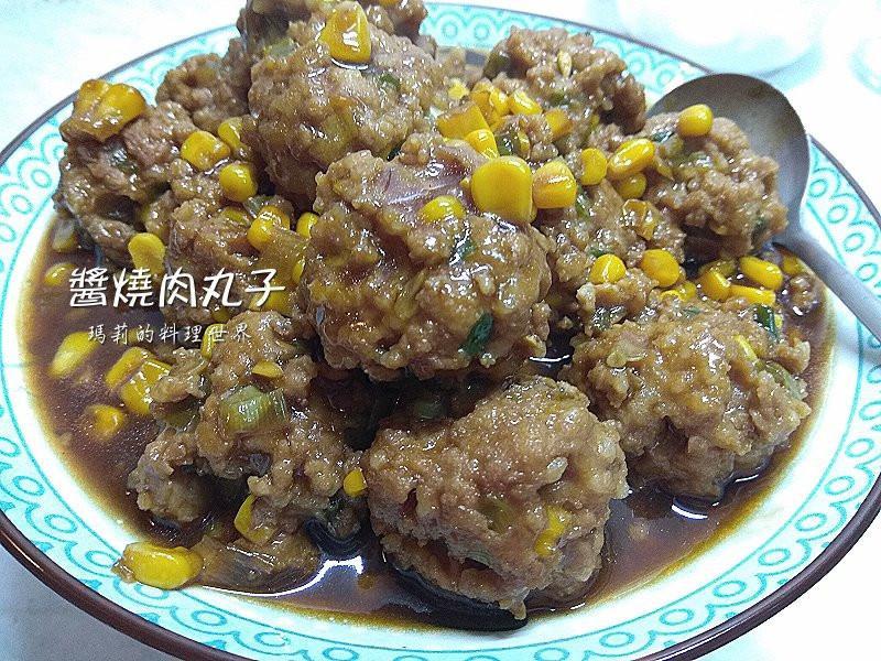 瑪莉廚房:醬燒肉丸子
