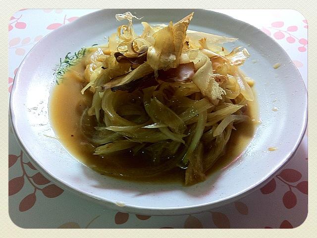 『輕鬆上菜』和風洋蔥沙拉