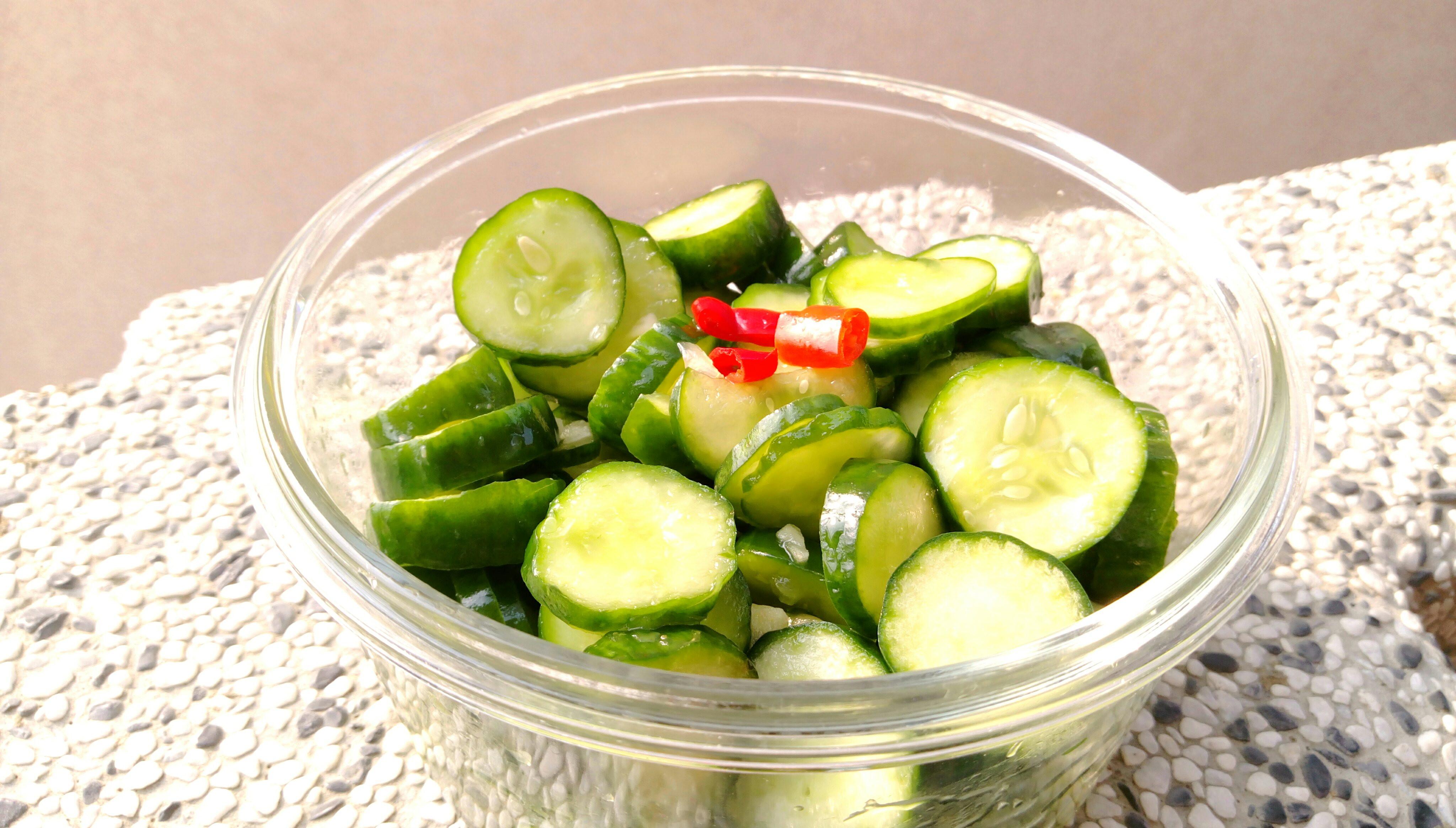 涼拌小黃瓜(新方法)