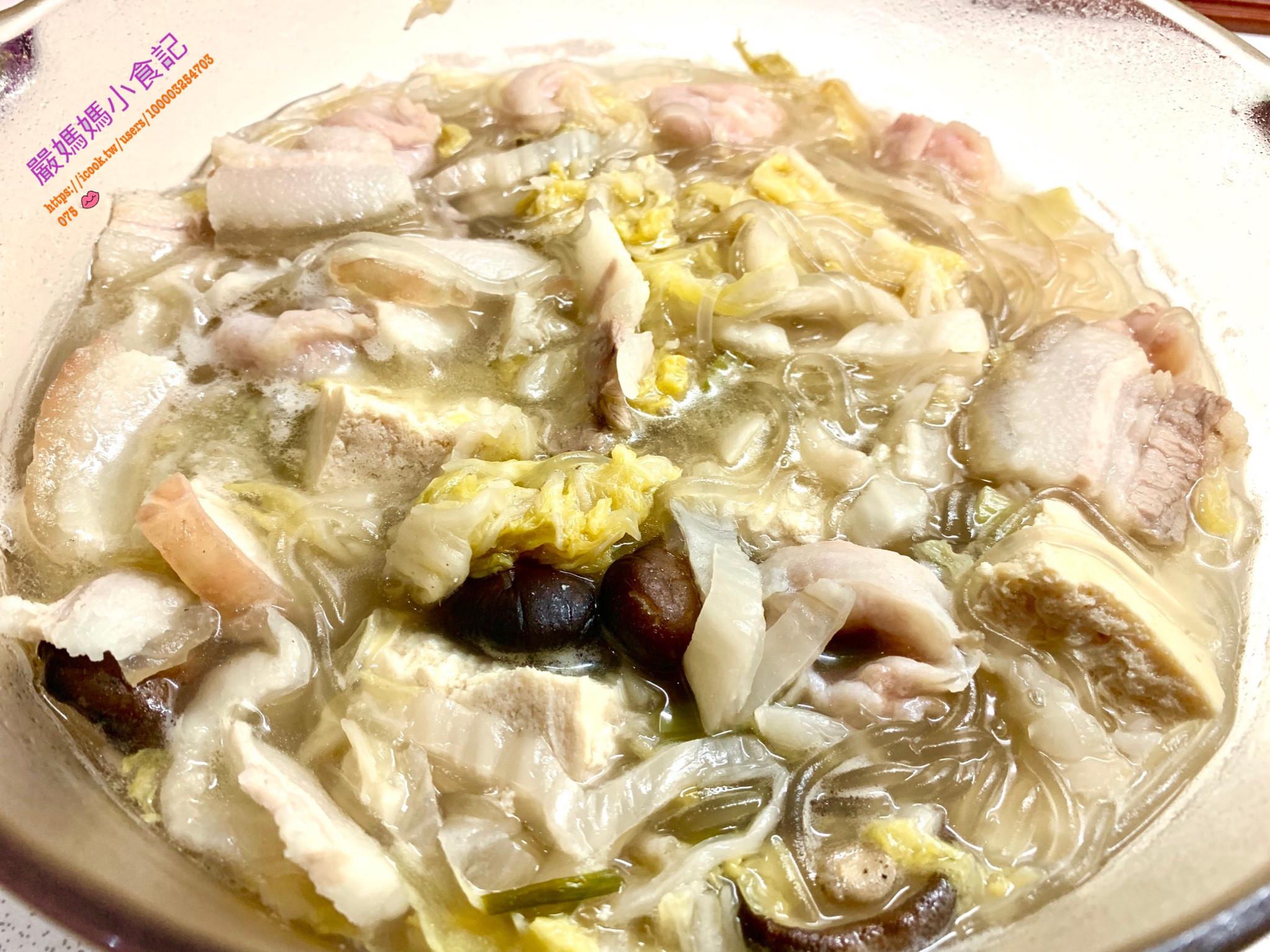 簡易酸白菜五花鍋