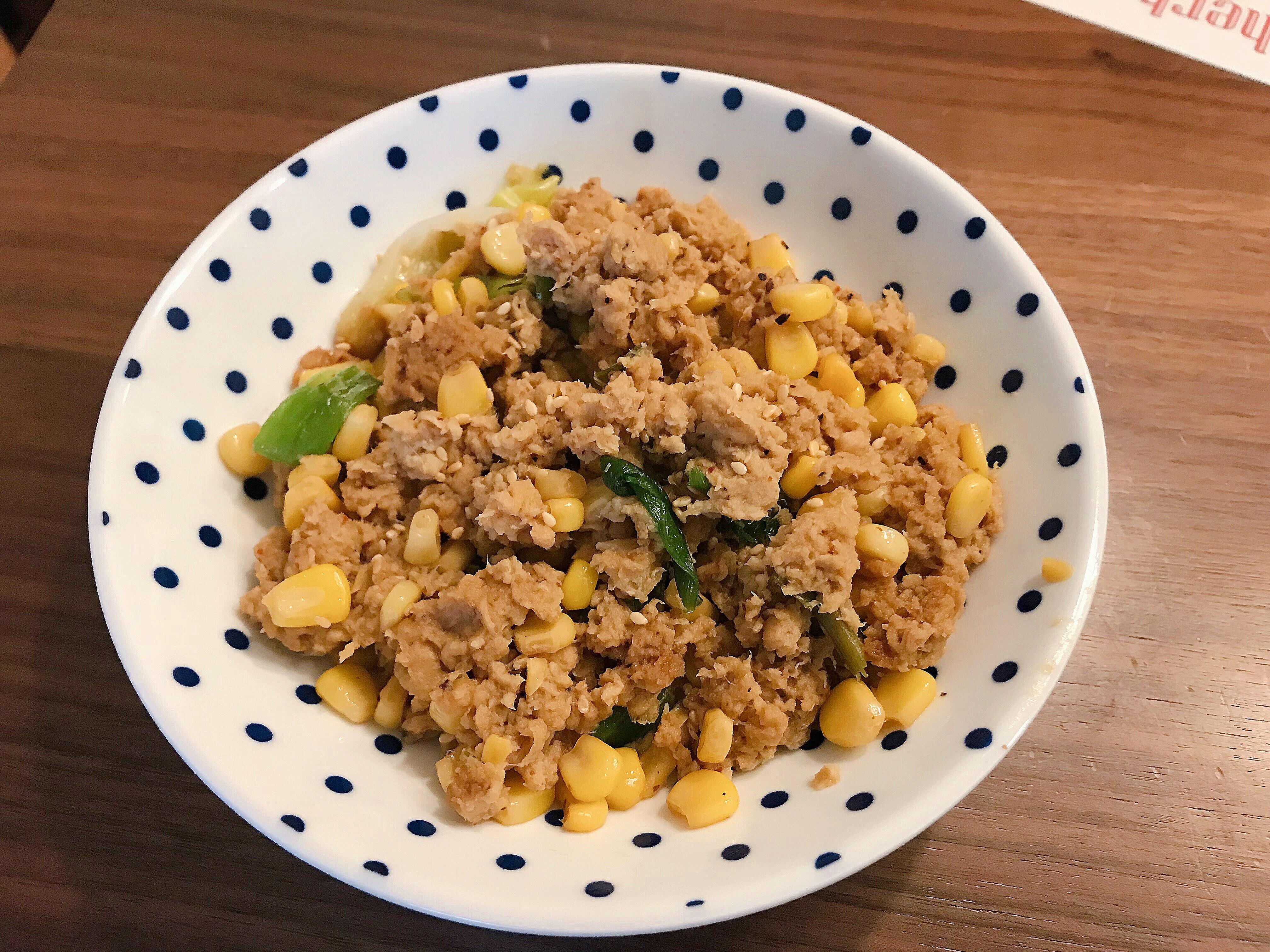 雞蓉玉米肉醬