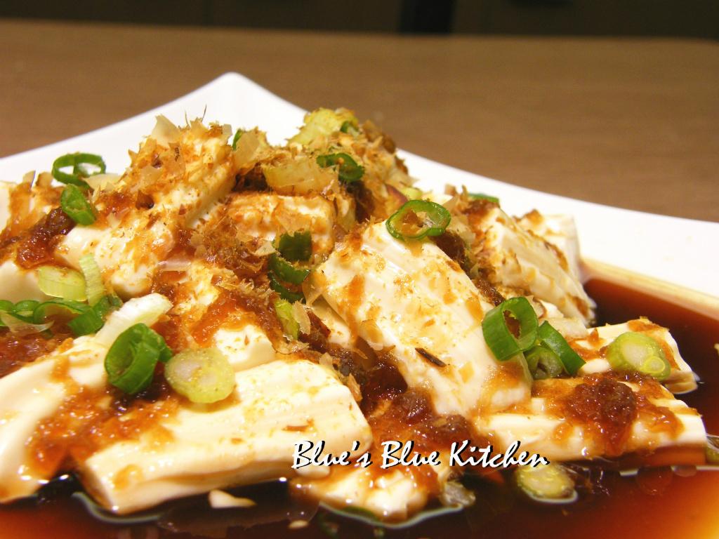 柴魚洋蔥冷拌豆腐