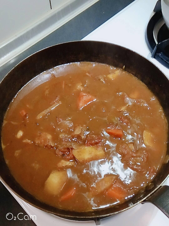 ~雞肉蕃茄咖喱~