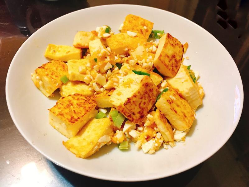 金沙雞蛋豆腐