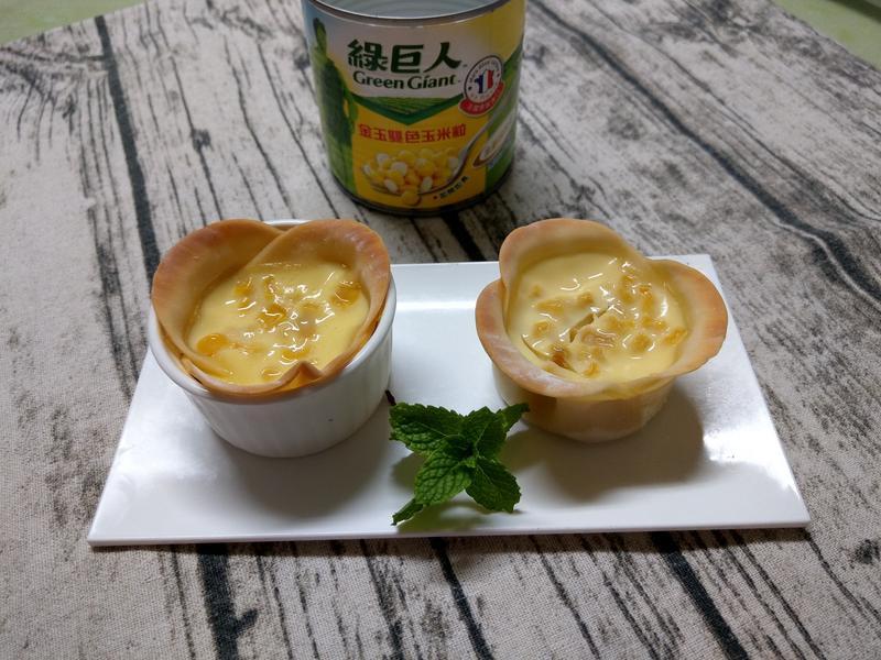 黃金玉米布丁