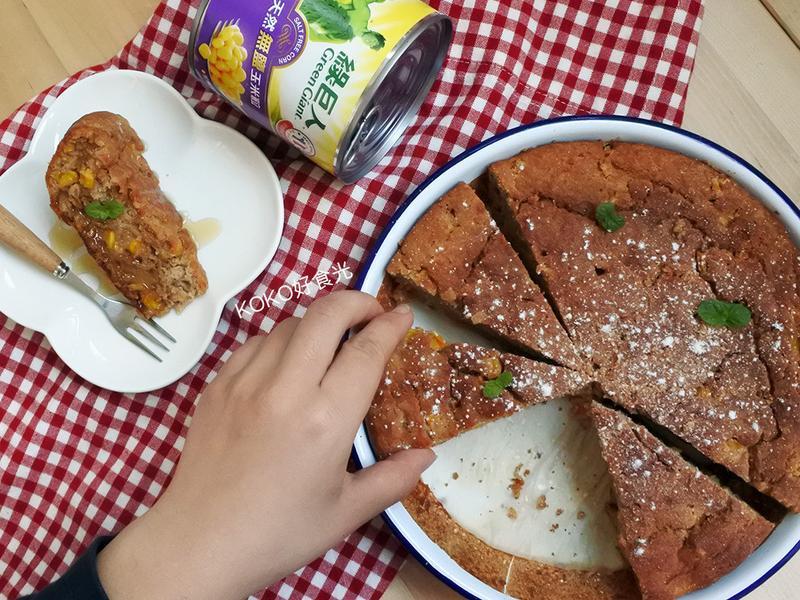 低卡美式玉米麵包Cornbread
