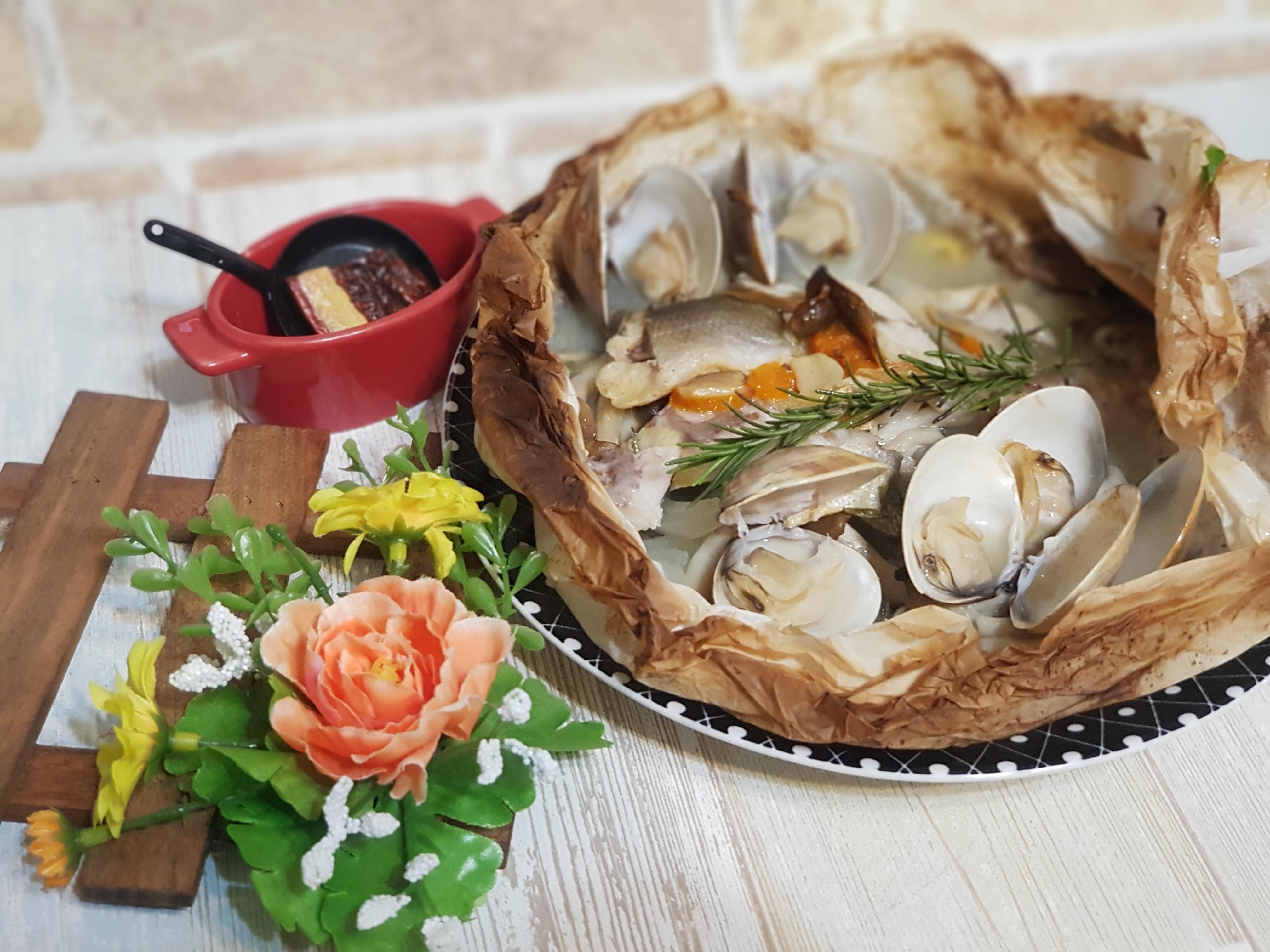 紙包烤義式海鮮