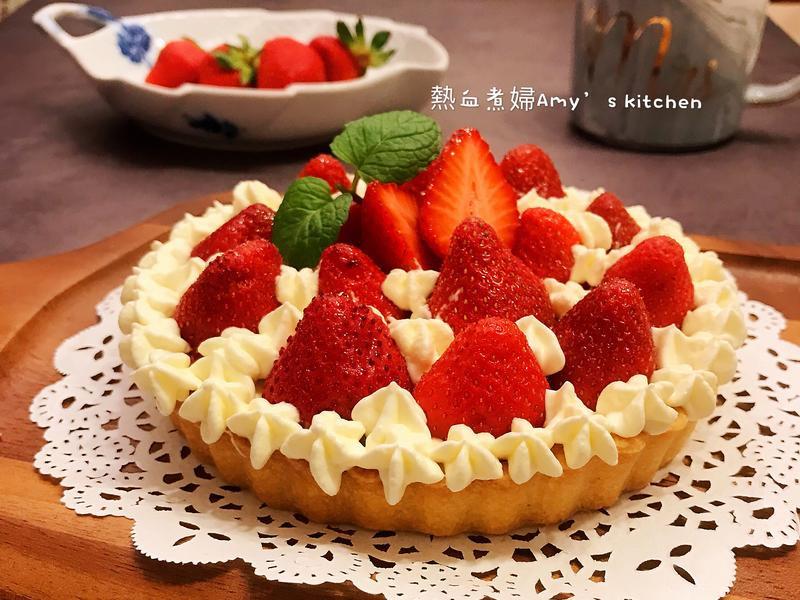 夢幻點心~草莓🍓鮮奶油塔