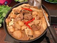 枝竹甘蔗羊腩煲