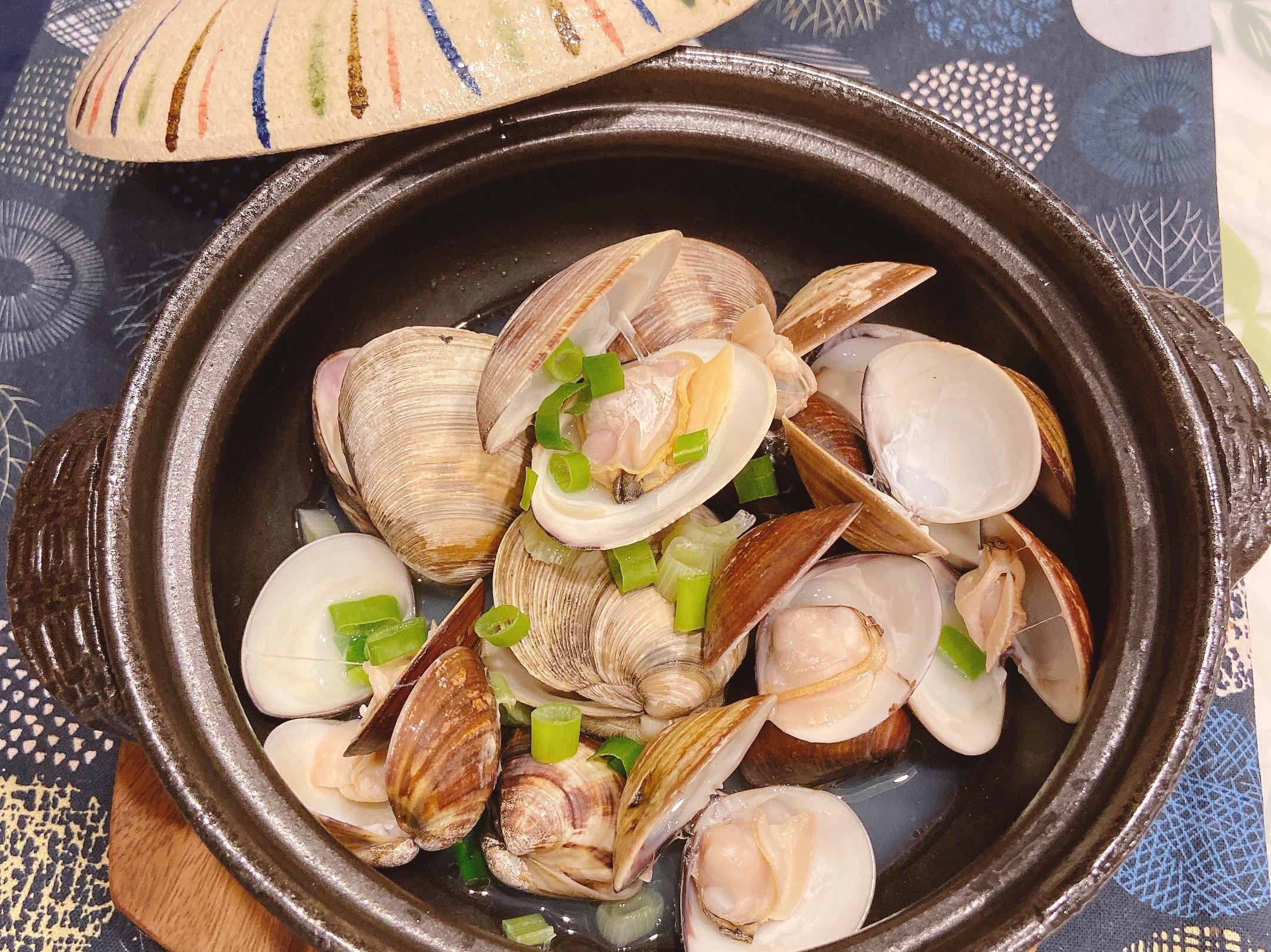 酒香奶油蛤蜊~十分鐘上菜!