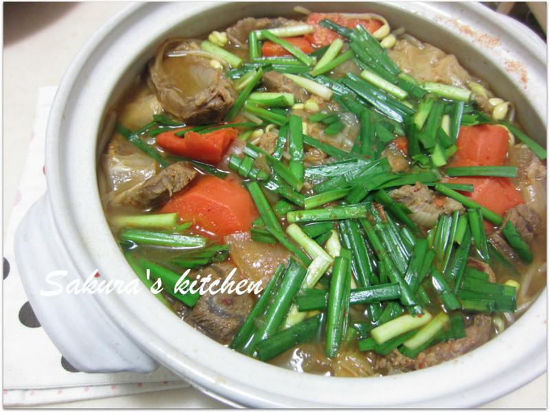 ♥我的手作料理♥韓式蘿蔔牛肉湯