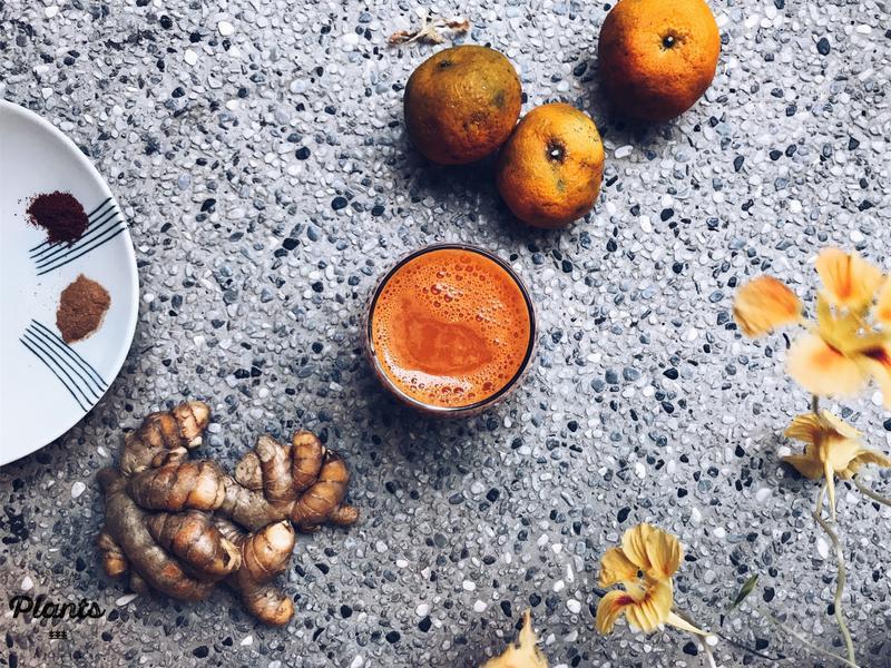 [無麩質、植物性] 冬季暖心果汁