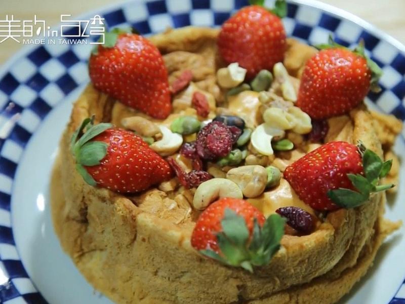 《寶貝食譜》有機花蜜戚風蛋糕