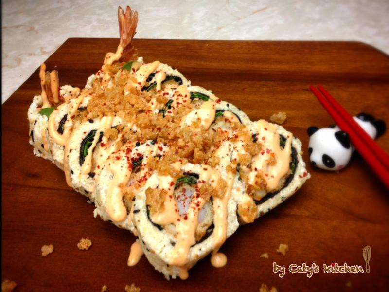 無米壽司之炸蝦天婦羅壽司捲