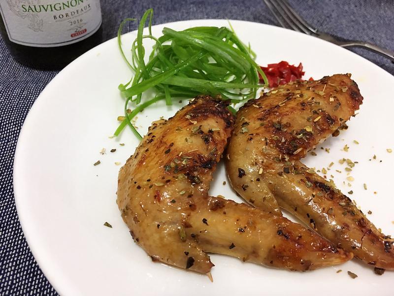 義式烤雞翅(小烤箱料理)