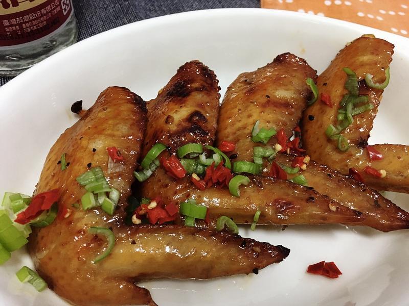 台式烤雞翅(小烤箱料理)