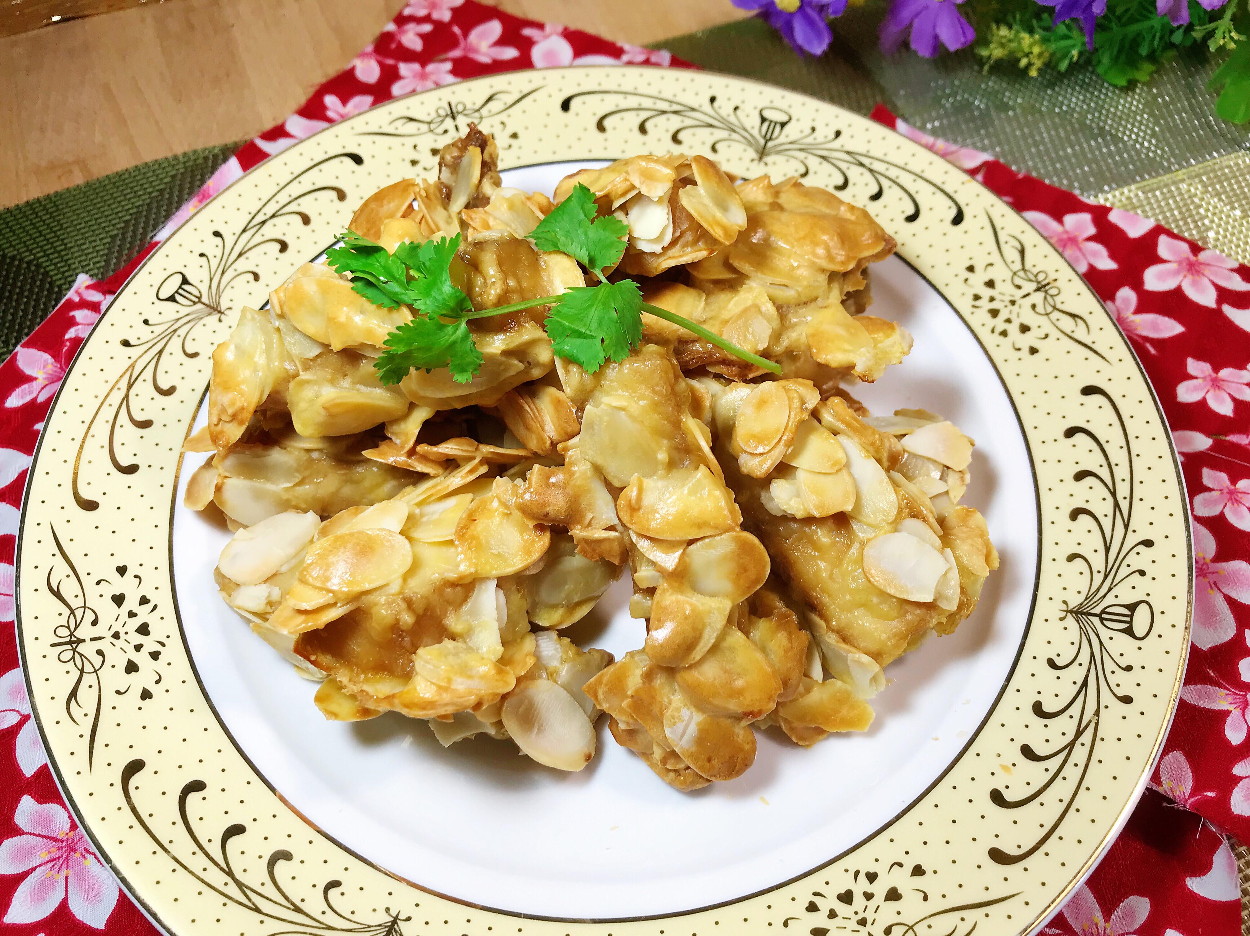 香酥杏仁魚片