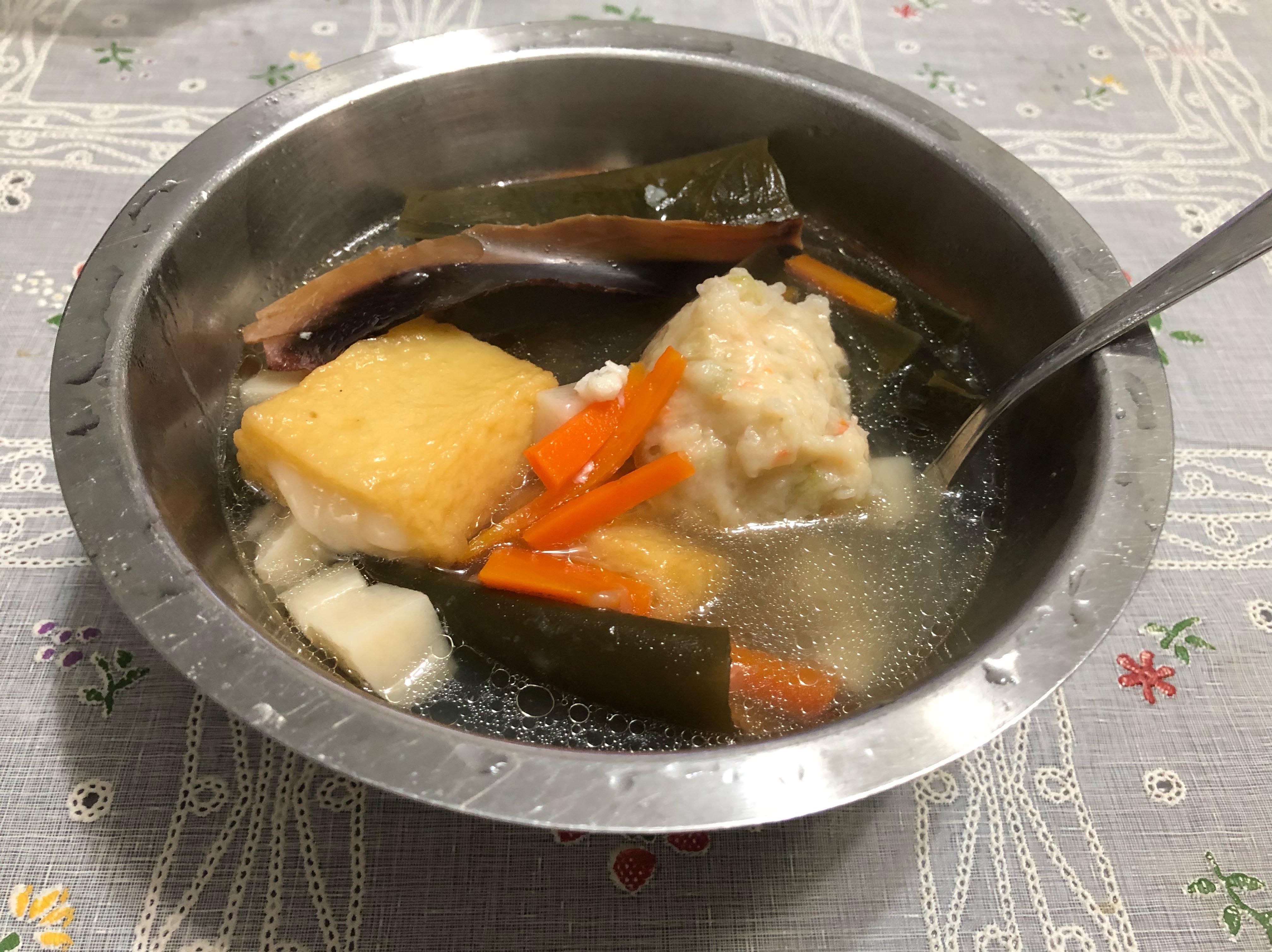 簡易昆布柴魚湯