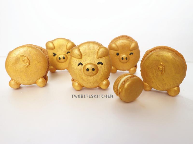 金豬馬卡龍