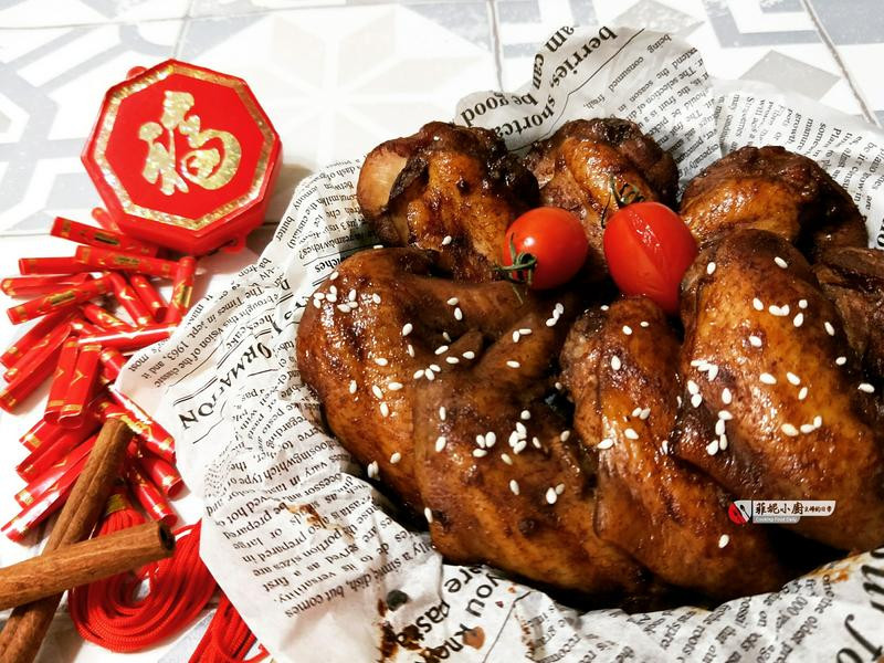 富貴吉祥-肉桂烤雞翅