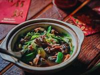 台式經典酒家菜-魷魚螺肉蒜
