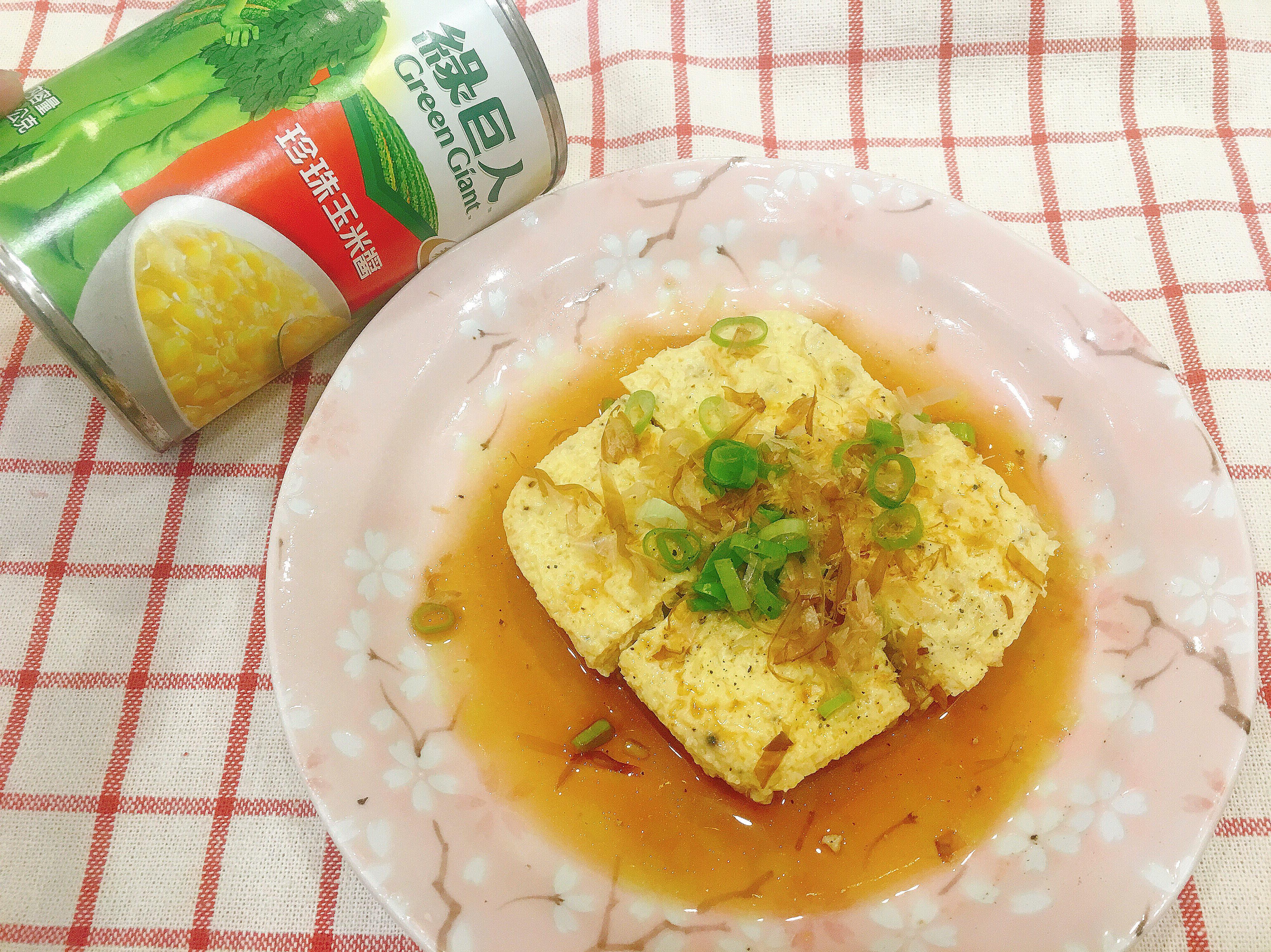 玉米蛋豆腐🌽