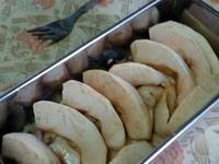 香蕉蘋果豆漿燕麥蛋糕