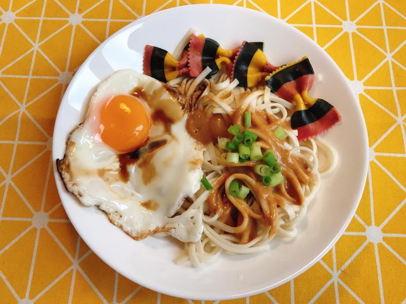 超簡單台灣麻醬麵
