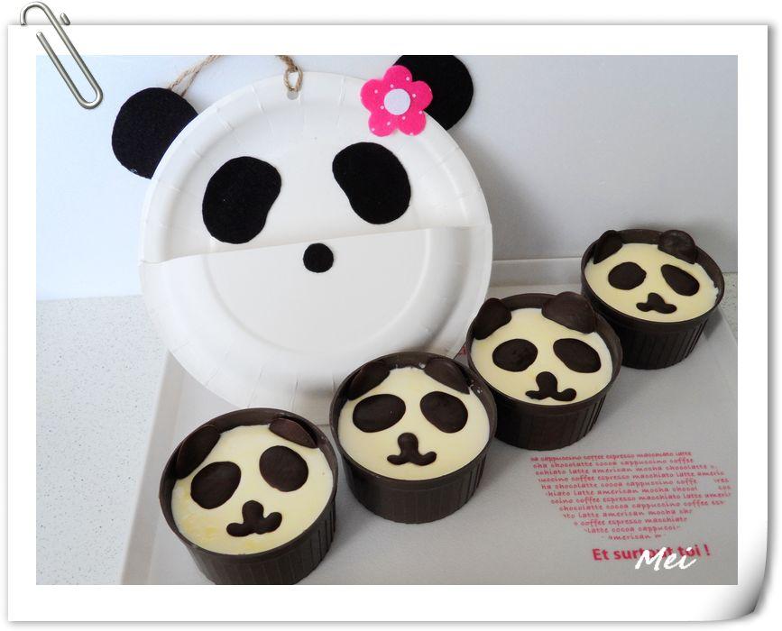 【巧克力熊貓鮮奶酪】