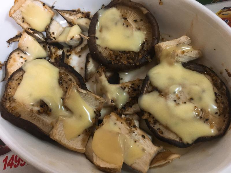小烤箱-起司烤鮮香菇