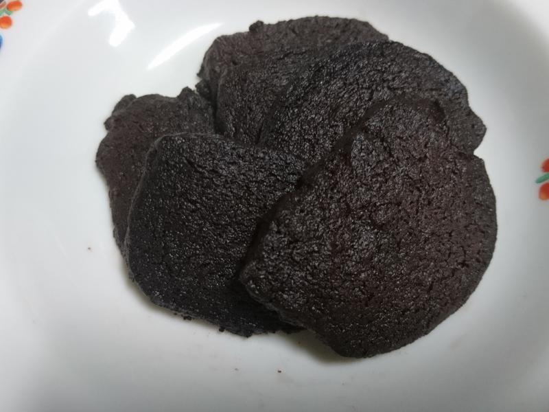 黑巧克力餅乾(苦&微甜)