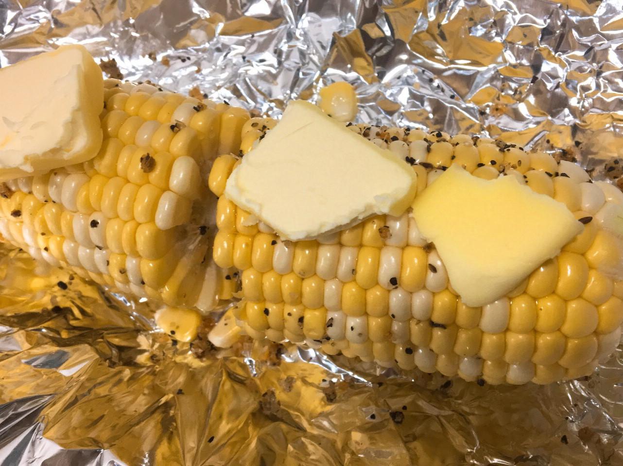 小烤箱-奶油烤玉米