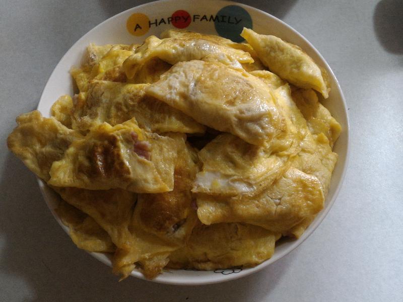 鮮嫩美味~手工蛋餃