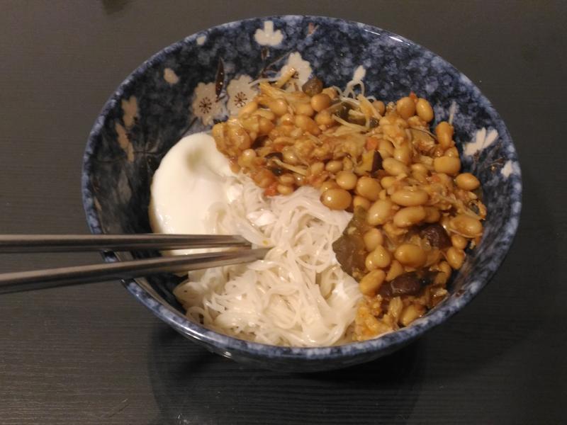 [一週大鍋煮] 黃豆肉末